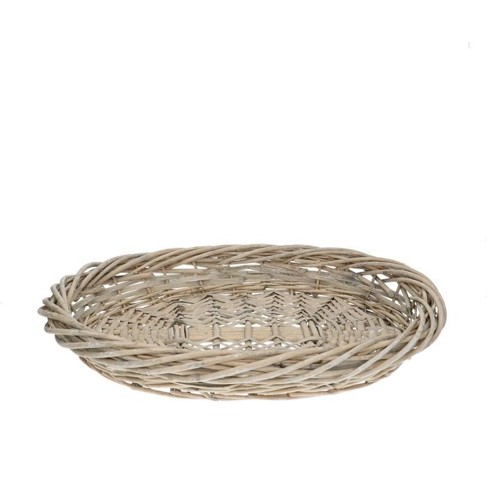 <h4>Baskets Jacky bowl oval 45/35*6.5cm</h4>