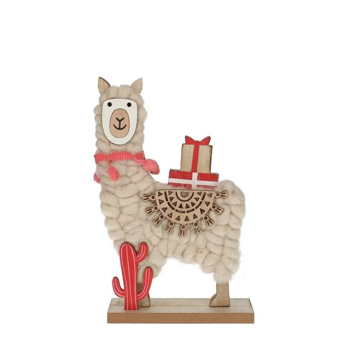 <h4>Christmas Alpaca d12*20cm</h4>