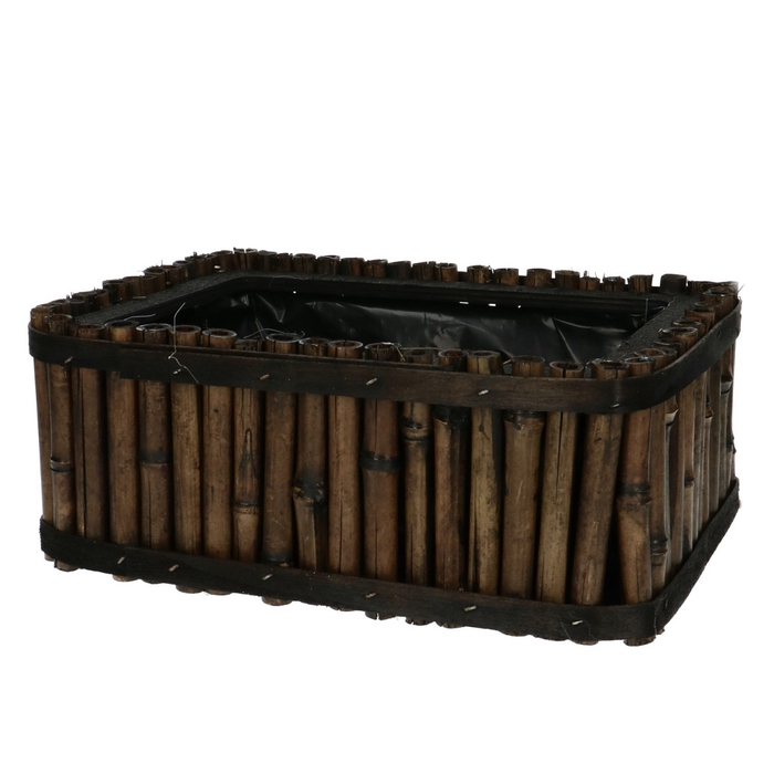 <h4>Baskets Bamboo tray 25*18*10cm</h4>