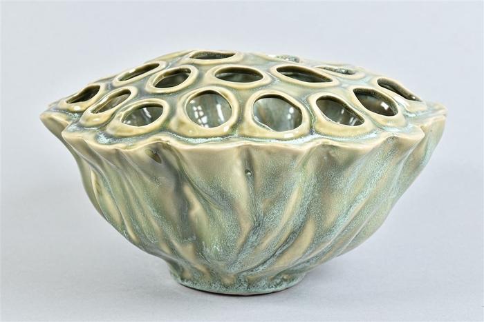 <h4>Lotus Schaal Aqua/mint 24x13cm</h4>