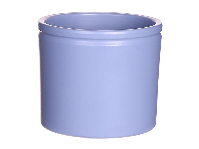 <h4>DF883832347 - Pot Lucca d14xh12.5 dusty blue matt</h4>