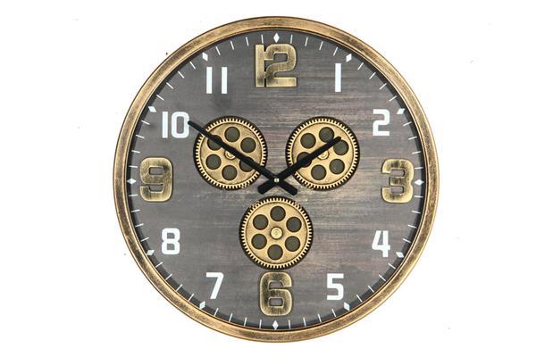 <h4>Clock Gear Ø46cm D.brown 81464</h4>