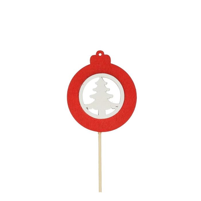 <h4>Christmas sticks 50cm Ball tree d7cm</h4>