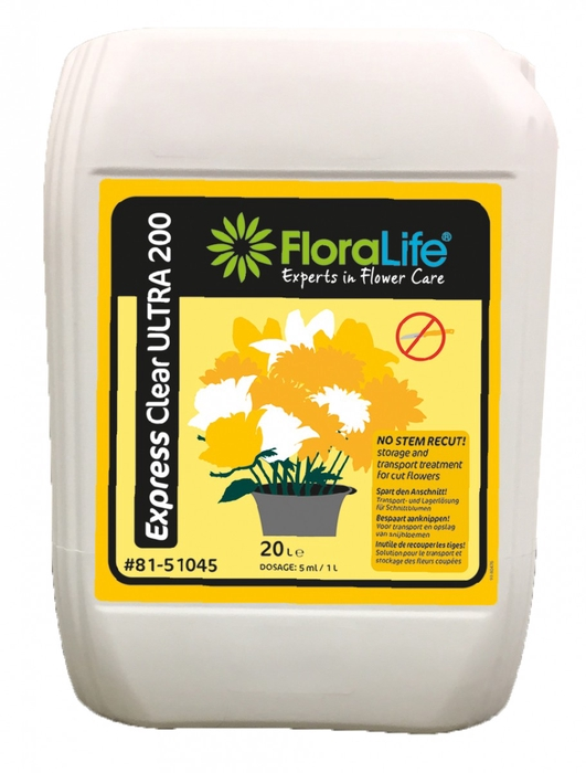 <h4>Abono organico Floral. Expr Clear Ultra 20L</h4>