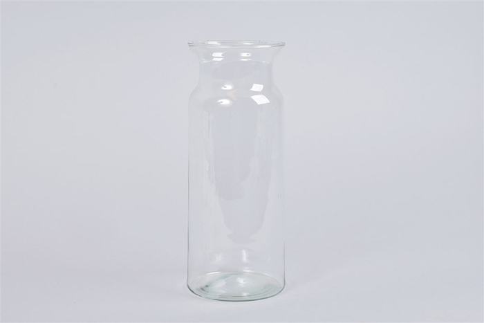 <h4>Glas Melkbus Vaas Eco 10x25cm</h4>