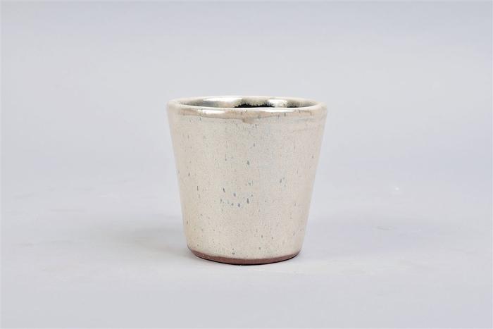 <h4>Alicante Cream Pearl Pot 11x10cm</h4>