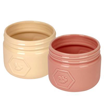 <h4>Pot Santiago céramique D14xH11,5cm ES12 2ass</h4>
