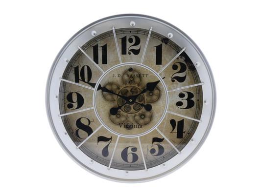 <h4>Clock Gear Ø60cm Lt. Grey</h4>