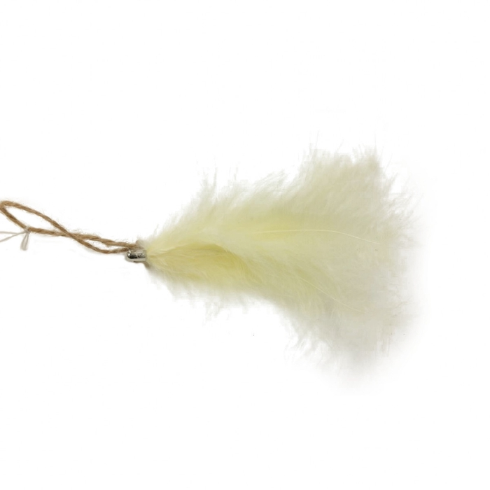 <h4>Autumn Hanging feather fuzz 13cm</h4>
