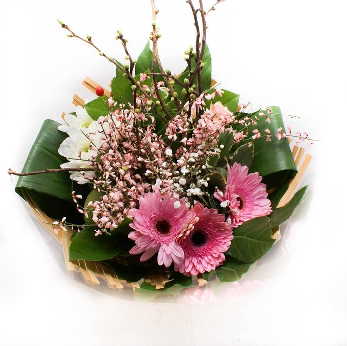 <h4>Boeket bamboo 1656 roze</h4>