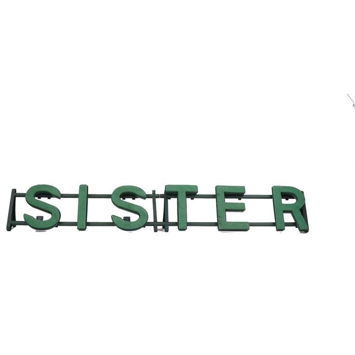 <h4>Steekschuim Basic Frame SISTER 29*170cm</h4>
