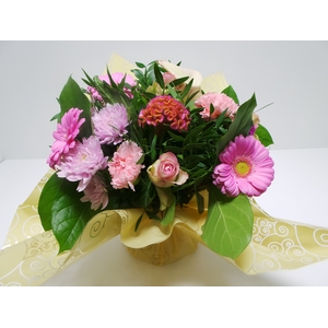 Bouquet Aqua Medium Pink