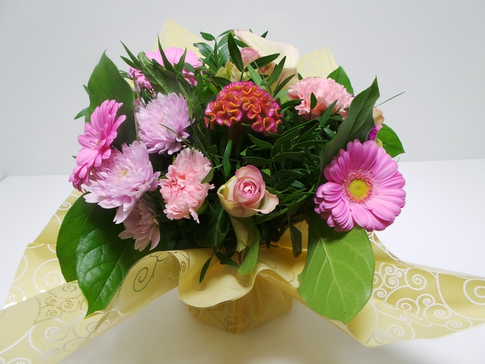 <h4>Bouquet Aqua Medium Pink</h4>