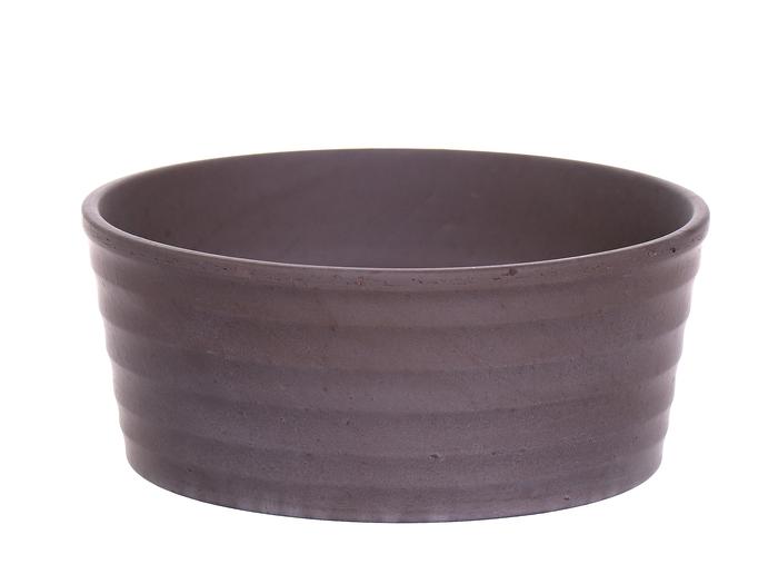 <h4>DF885080000 - Bowl Githa d15.5xh6.5 grey</h4>