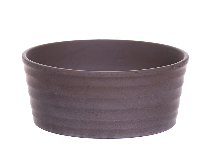 <h4>DF885080000 - Bowl Githa d15.5xh6.5 grey</h4>