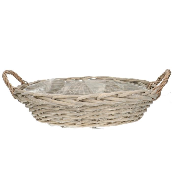 <h4>Baskets Olivia bowl+handle d47*10cm</h4>