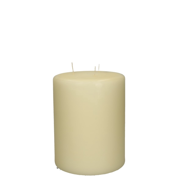 <h4>Candle Cylinder+3wich d15*20cm</h4>
