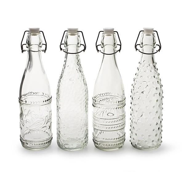 <h4>Glas Fles+dop d2/7*28cm ass</h4>